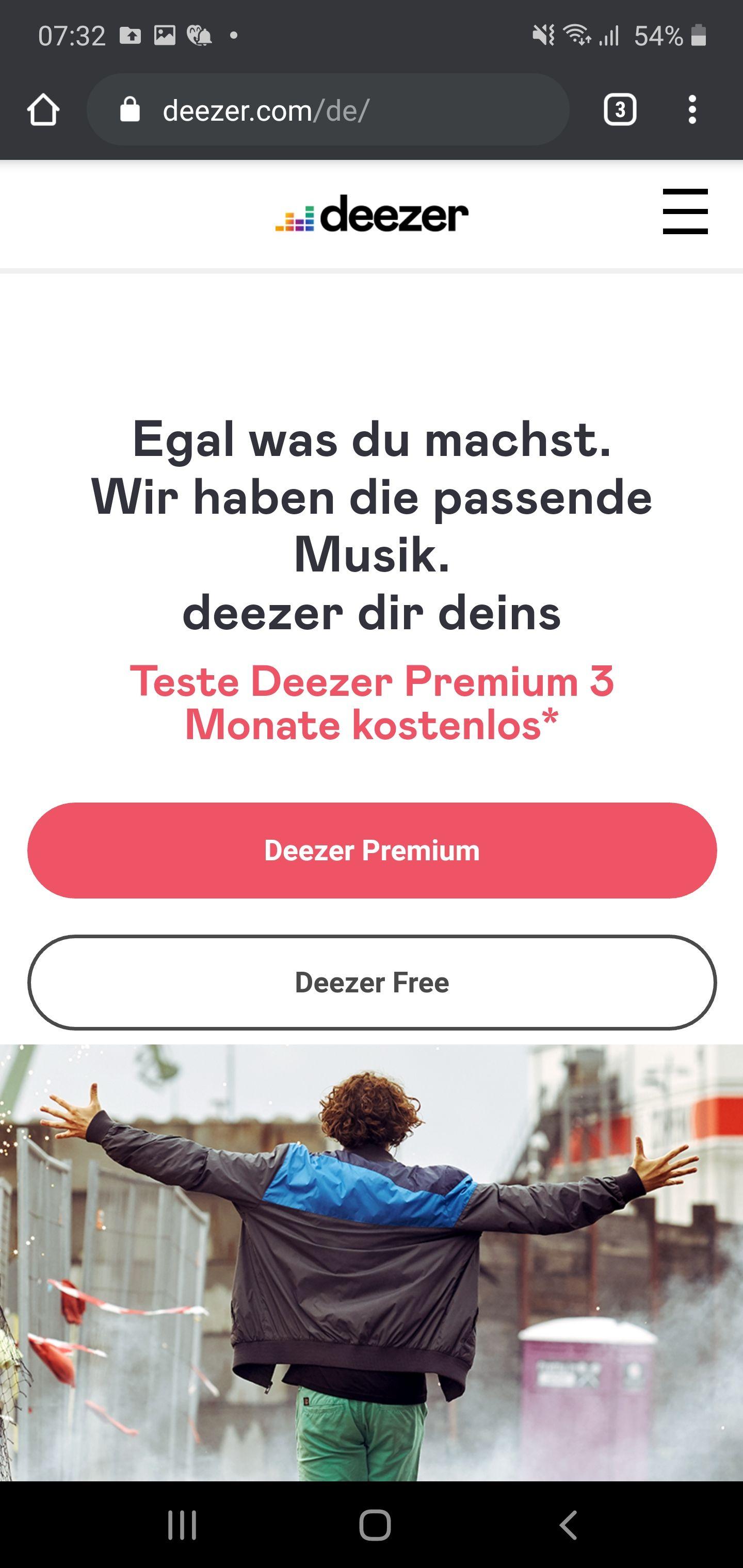 3 Monate Deezer oder 30 Tage Deezer Hifi gratis