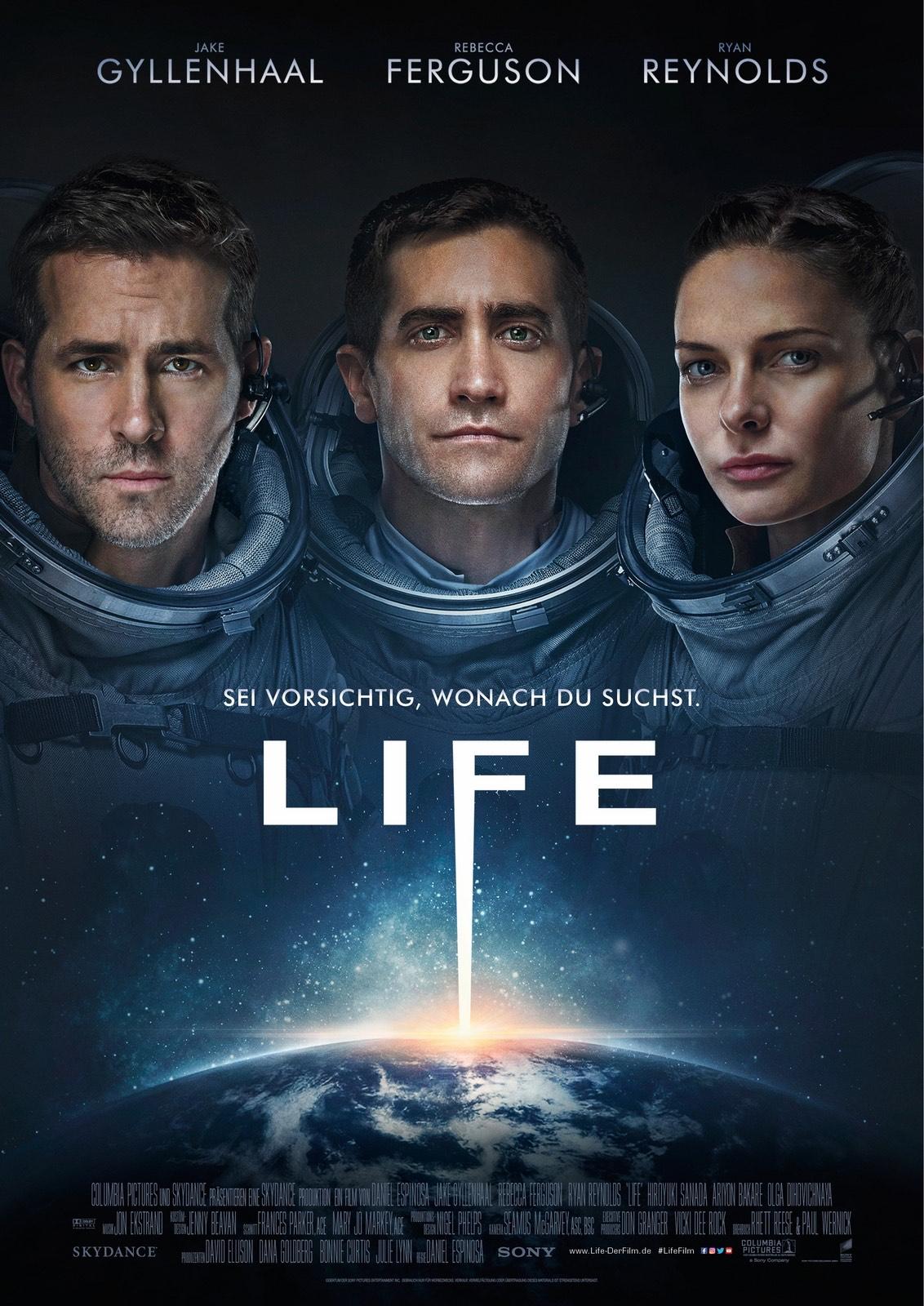 [Sky Store] Film Life mit Jake Gyllenhaal und Ryan Reynolds in HD - kostenlos