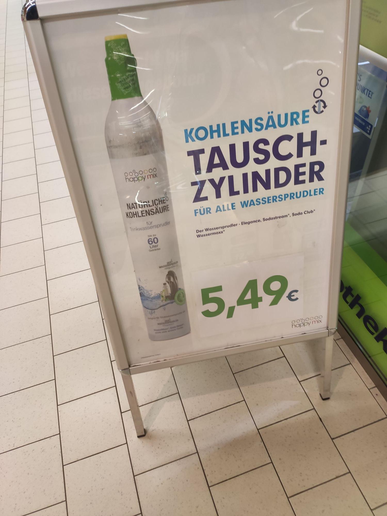 Dauerangebot - Kohlensäure Tausch Zylinder Lokal Hamburg/Bramfeld