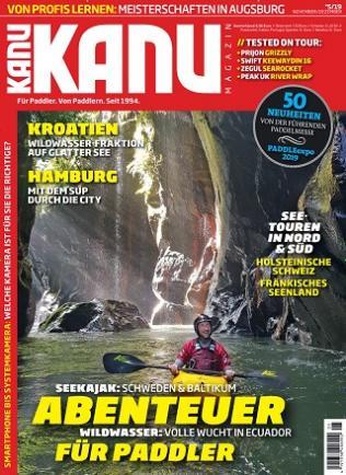 Kanu Magazin Abo (6 Ausgaben) für 38,80 € inkl. 35 € BestChoice-Gutschein oder einem 30 € BC inkl. Amazon (Kein Werber nötig)