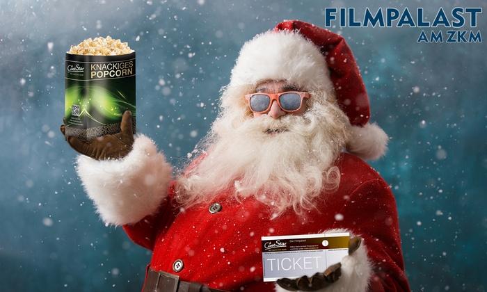 CineStar/Filmpalast ZKM Karlsruhe: Ticket + Popcorn 9,90 €