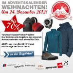 Bergfreunde.de: Nochmal alle Angebote aus dem Adventskalender vom 24. - 26.12 | Z.B. Haglöfs Roc Speed Rucksack für € 65,97 (Idealo: 93,60 €)