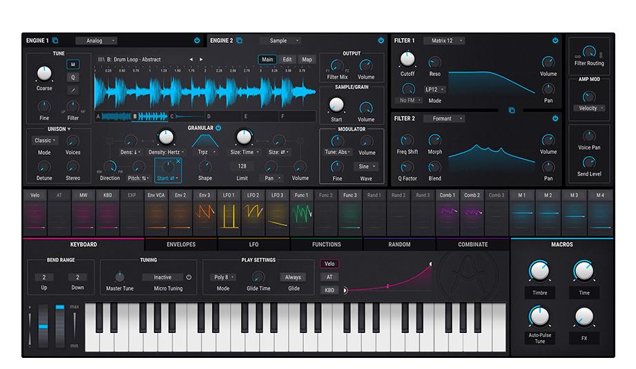 Arturia Pigments 2 Software Synthesizer für 99 EUR