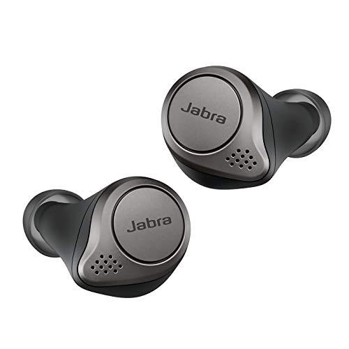 [Amazon] Jabra Elite 75t Bluetooth-Kopfhörer, kabellos, mit Ladebox, 4. Generation, 28 Stunden Akku, Alexa eingebaut, Titanschwarz
