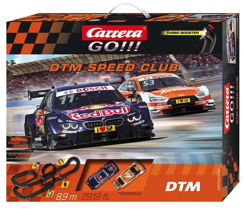 Carrera GO!!! DTM Speed Club Autorennbahn