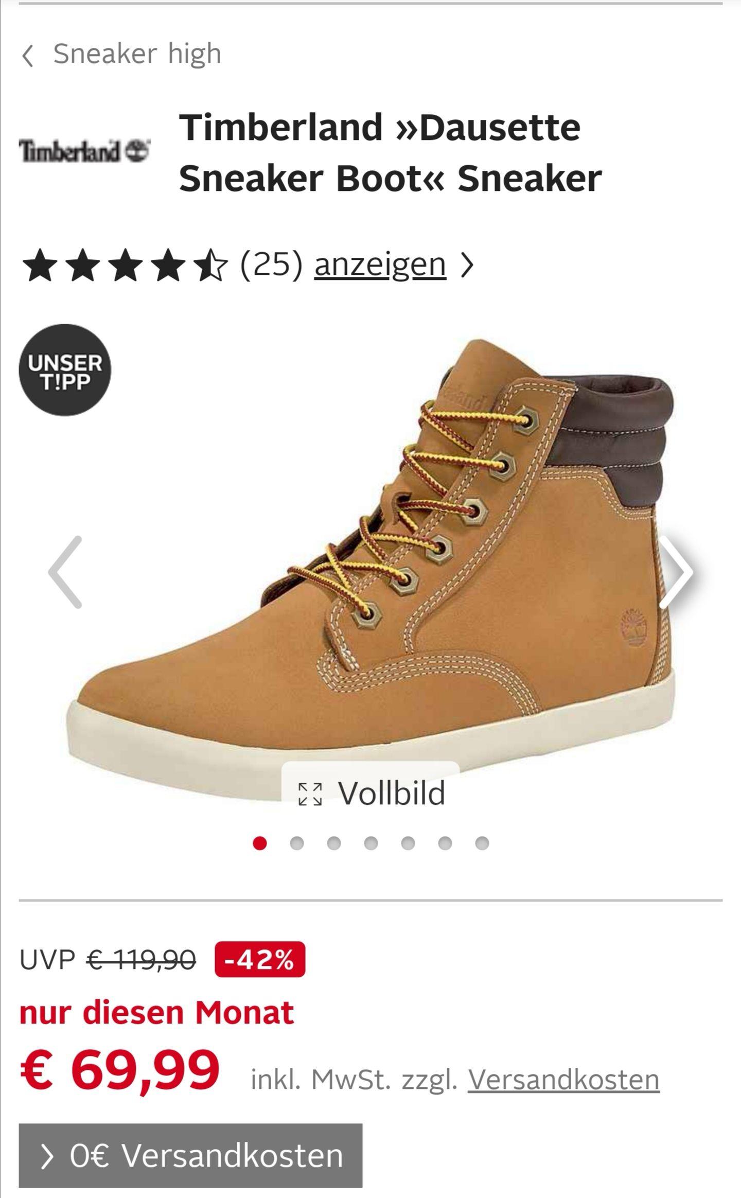 Timberland »Dausette Sneaker Boot« Sneaker für Damen