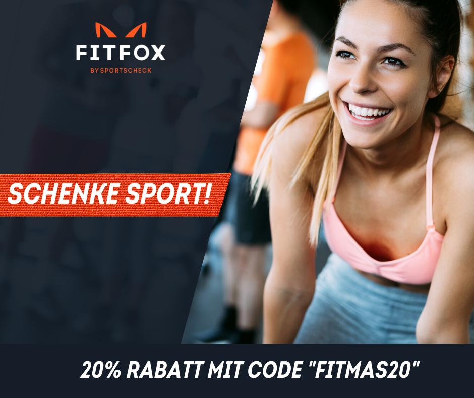 Sportliche Geschenkideen bei FITFOX