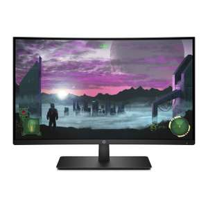 HP 27x Curved Monitor
