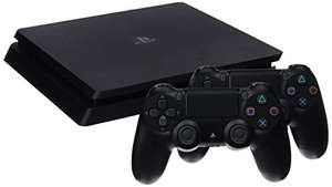 PlayStation 4 Slim Konsole 1TB + 2 DualShock Controllers @ Amazon.it