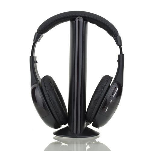 Hi-Fi Wireless Kopfhörer für MP3/MP4/PC/TV für 7,18€ inkl. Versand