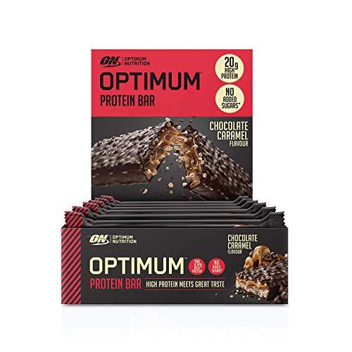 Optimum Nutrition Protein Bar - Riegel 20g Eiweiß ; 10 x 60g