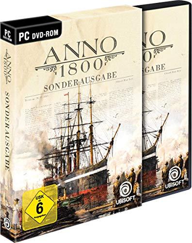 [Amazon.de] Anno 1800 Sonderausgabe (inkl. Soundtrack und Lithographien) - PC