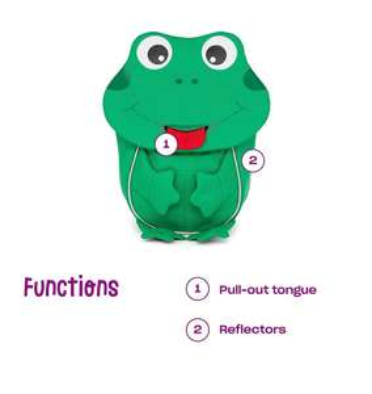Affenzahn Frosch-Kinderrucksack