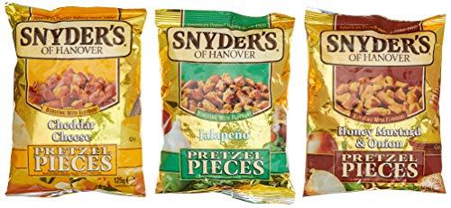 [Müller] Snyders Pretzel Pieces 125g verschiedene Sorten für 1,11 Euro
