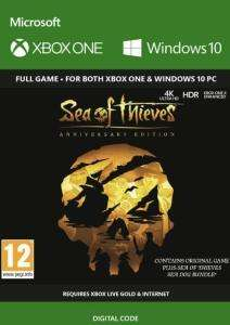 Sea of Thieves: Anniversary Edition (Xbox One/PC Play Anywhere) für 17,09€ (CDkeys)