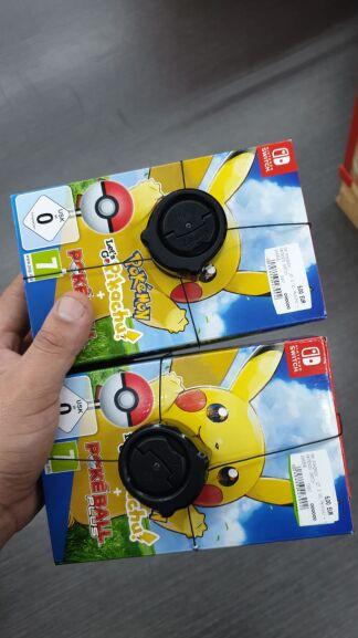 Switch Pokemon Go inkl. Ball (Lokal Darmstadt Weiterstadt)