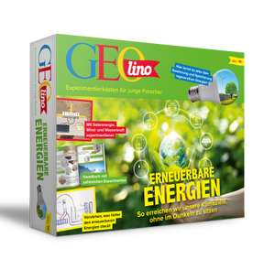 Geolino Erneuerbare Energien - Experimentierbox für Kinder ab 10 Jahren