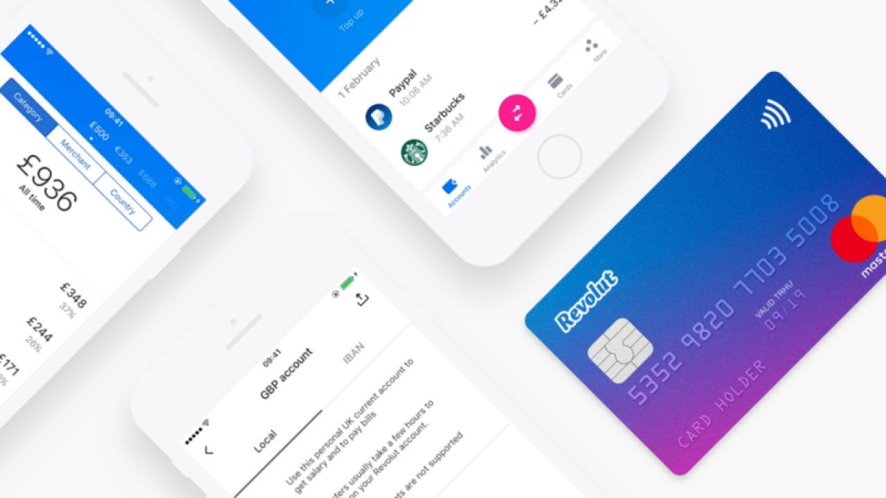 Revolut Standard Karte Kostenlos in der App