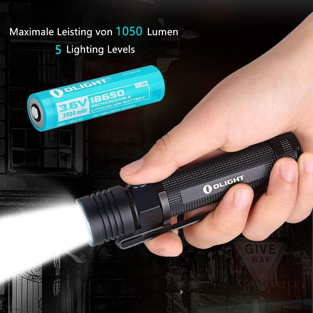 Olight Baton S30R. III EDC. 1050lumen Taschenlampe