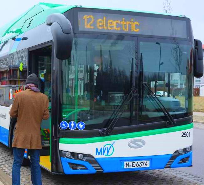 [Unterföhring - München] Erste regionale Elektrobuslinie ein Jahr lang kostenlos nutzen