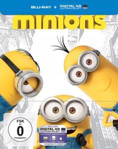 Minions Limited Steelbook Edition & Fast & Furious 6 - Kinofassung & Extended Harder Cut Steelbook Edition (Blu-ray) für je 5€ (Saturn)