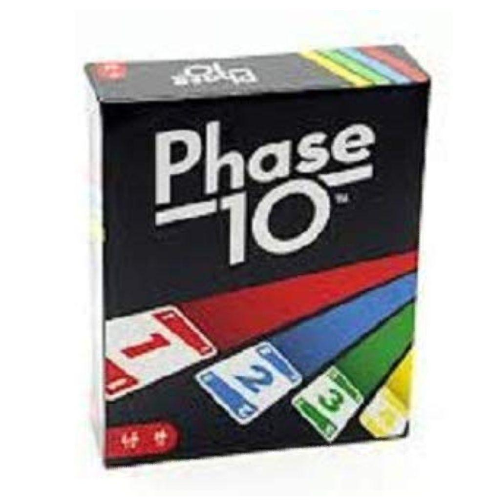 [Amazon Prime] Mattel Games FPW38 - Phase 10 Kartenspiel, Gesellschaftspiel, 2-6 Spieler,ab 7 Jahren