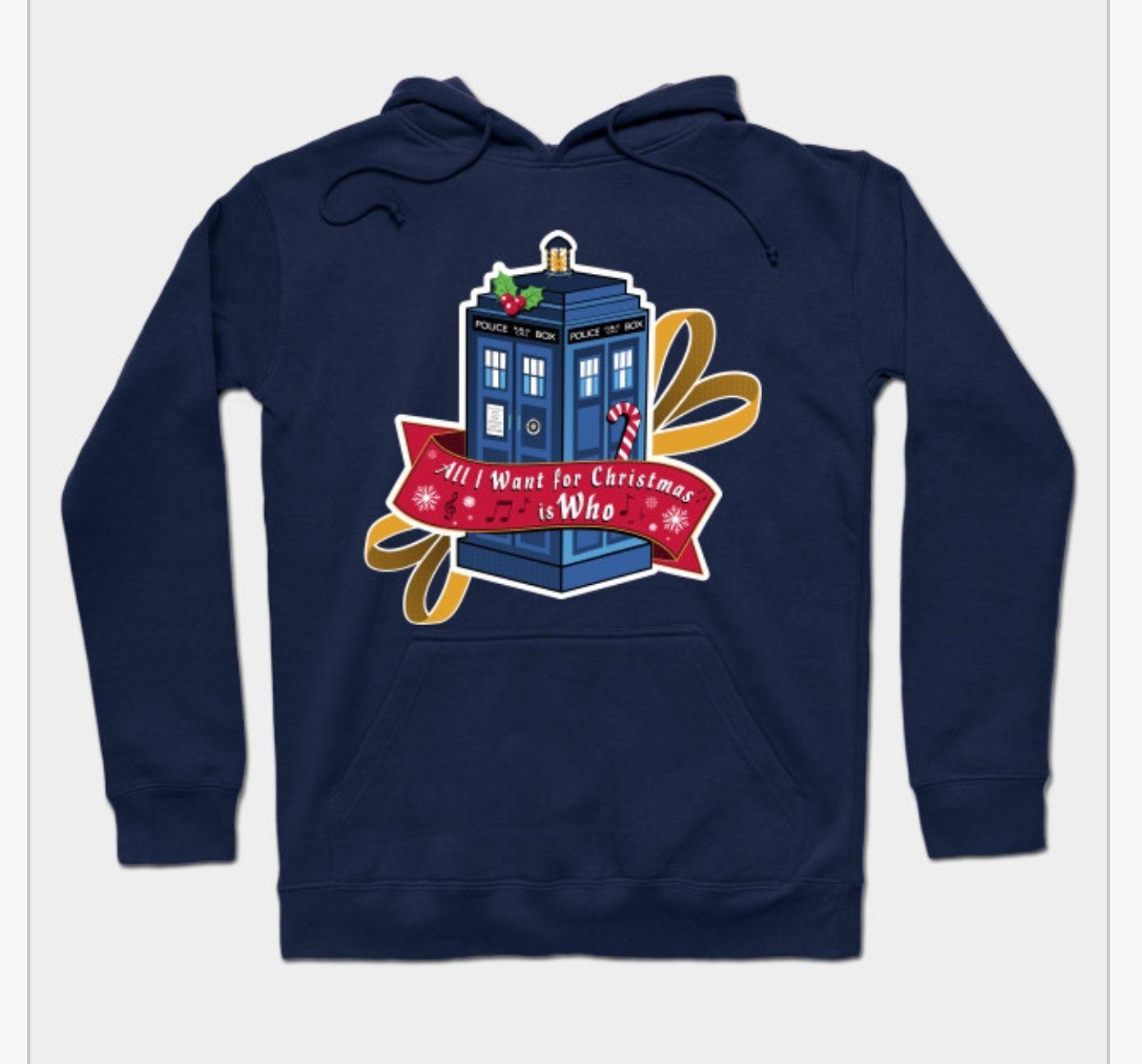 Weihnachtspullover für Doctor Who Fans und viele Artikel und Designs mehr!