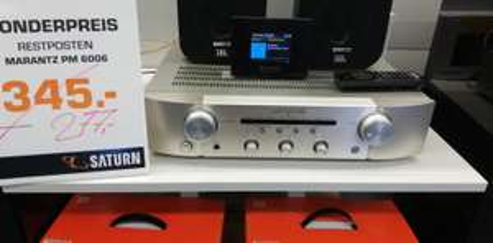 [Lokal Saturn Esslingen] Audio Produkte, z.B. Marantz PM6006 im Ausverkauf