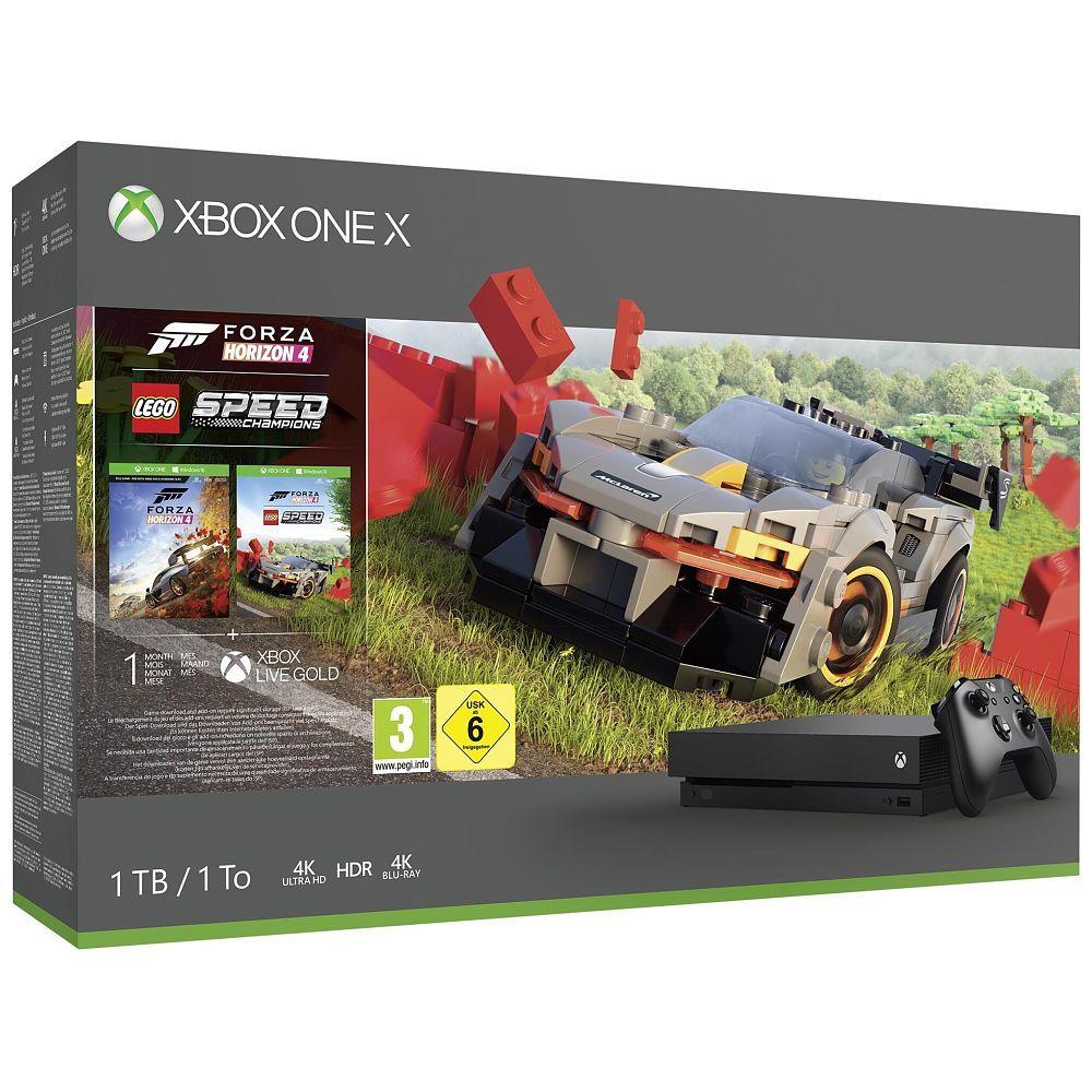 [digitec.ch] Xbox One X 1TB - Forza Horizon 4 + LEGO Speed Champions Bundle für 255€ - Xbox One S All Digital für 127€ ( Schweiz )