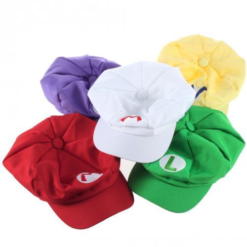 (CN) Super Mario, Luigi, Wario, Waluigi oder White Mario Mütze  für ca. 2,65€ @ ebay