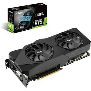 ASUS Dual GeForce RTX 2070 OC Evo, DUAL-RTX2070-O8G-EVO, 8GB GDDR6, DVI, 2x HDMI, 2x DP, TU106 (90YV0CN1-M0NA00)