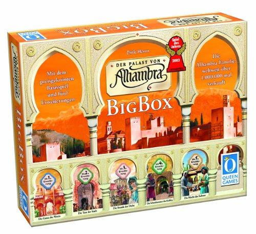 Queen Games 6037, Alhambra-Big Box, Spiel des Jahres 2003
