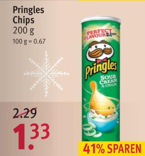 Pringles bei Rossmann