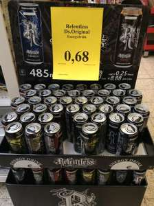 Relentless Energy für 0,68€ bei Thomas Philipps !!!