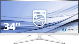 34 Zoll 21:9 UWQHD 3440x1440 Philips X-Line 349X7 Curved 100hz Monitor VA-Panel