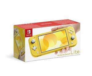 Nintendo Switch Lite in Grau,Türkis und Gelb