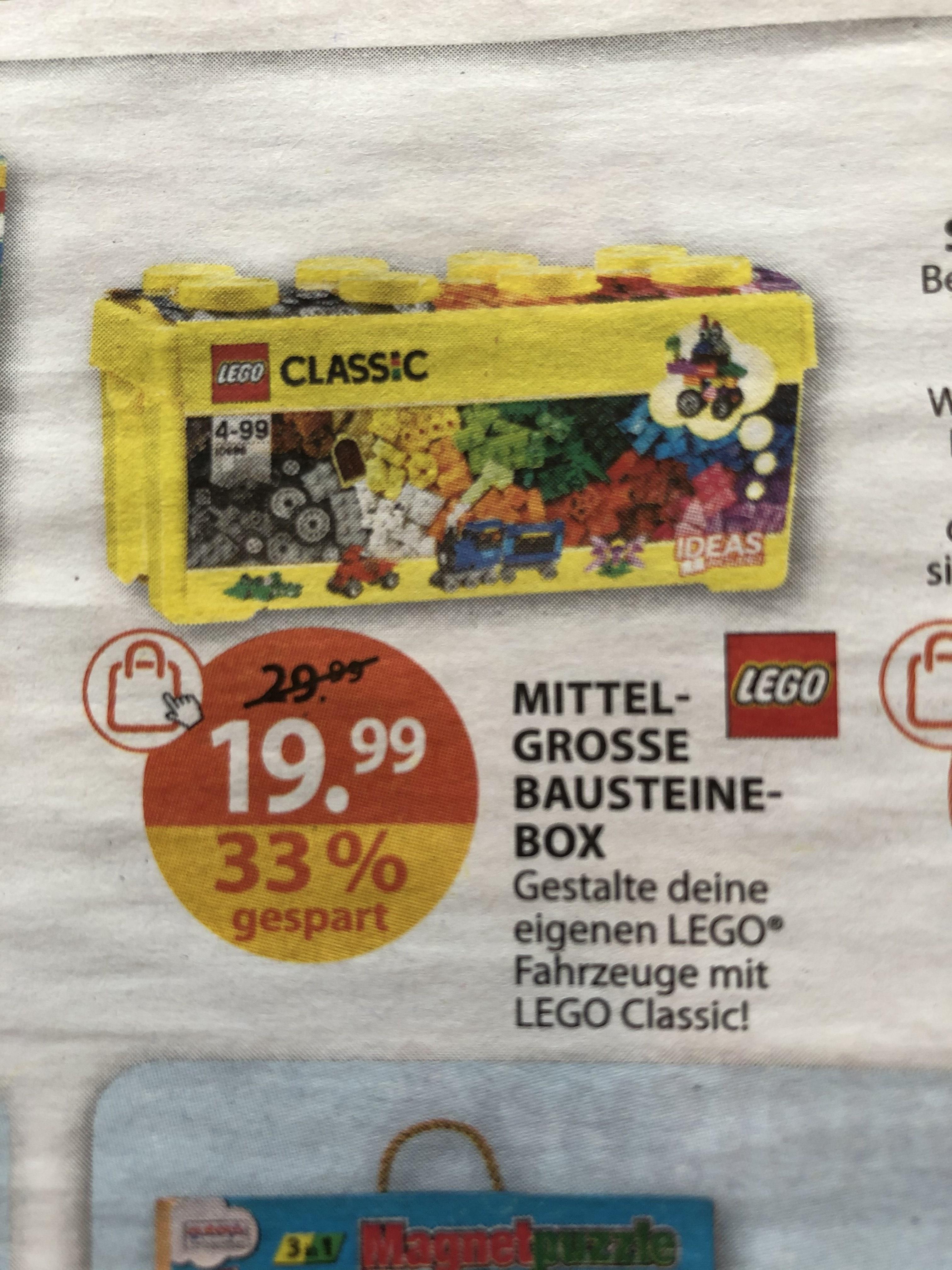 LEGO Mittelgroße Bausteine-Box (10696) bei Müller 484 Teile