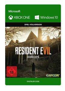 Resident Evil 7: Biohazard (Xbox One/PC Digital Code Play Anywhere) für 4,99€ & Gold Edition für 14,99€ (Xbox Store)