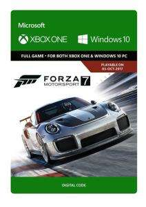 Forza Motorsport 7 (Xbox One/PC Digital Code Play Anywhere) für 15,38€ (CDkeys)
