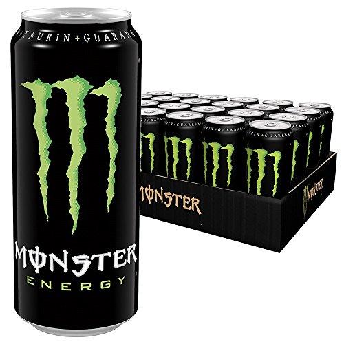 24 Dosen Monster Energy für 22,81€ + 6€ Pfand bei Amazon