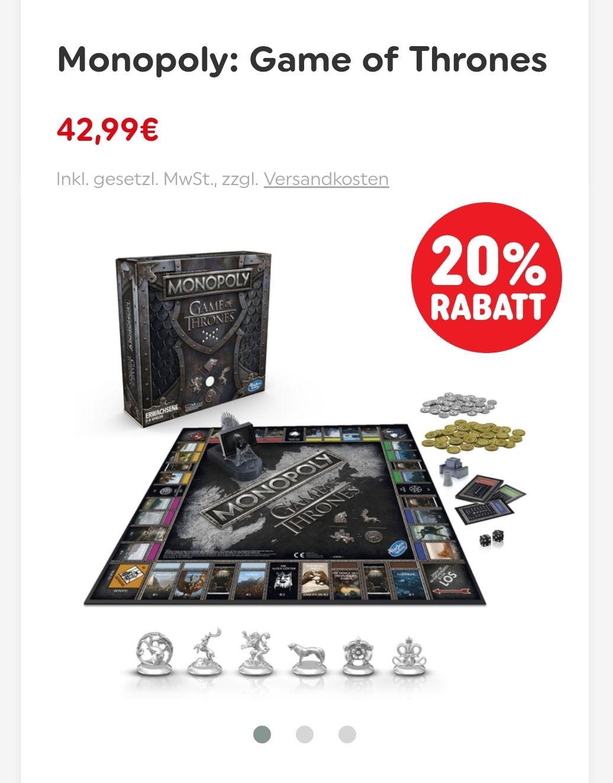 Monopoly Game of Thrones - kostenloser Versand