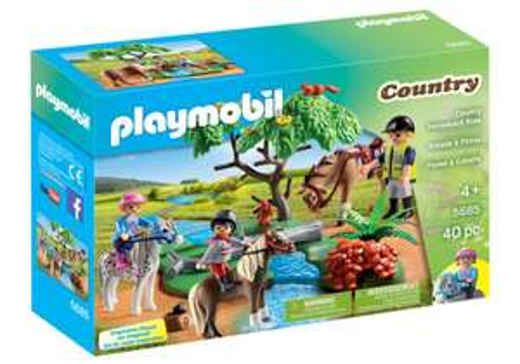 "Playmobil Country Horseback Ride ""5685"" (40-teilig) bei Marktabholung [Real.de]"