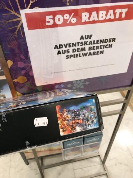 [Offline]Galeria Kaufhof Essen Adventskalender Playmobil Drei ??? Fragezeichen