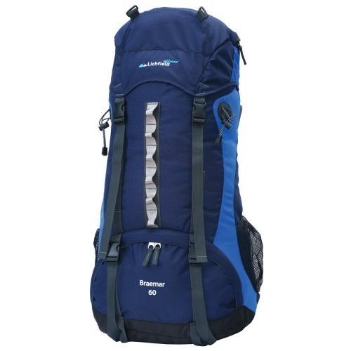 Lichfield Trekkingrucksack Braemar, blau, 60 Liter