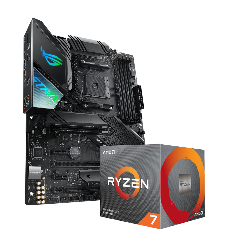Ryzen 3700x + Asus Rog Strix x570-F