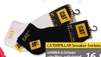 Caterpillar Sneaker Socken 18 Paar schwarz oder weiss für 16,99 € @ MeinPaket.de