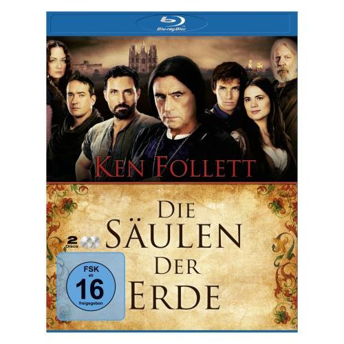 Die Säulen der Erde [Blu-ray] - 3 Cent pro Minute (416 Minuten)