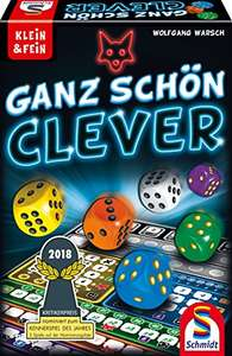 Schmidt Spiele 49340 - Ganz Schön Clever [Amazon Prime]