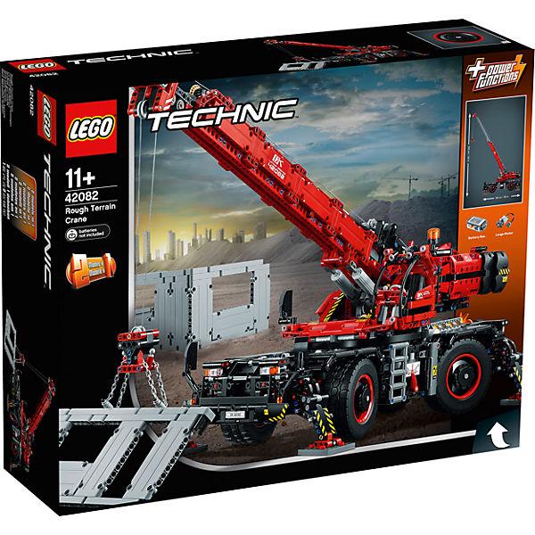 LEGO 42082 Technic: Geländegängiger Kranwagen