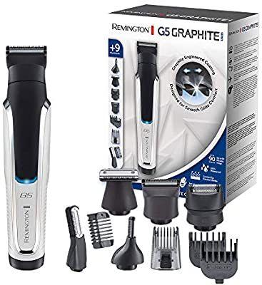 Remington Multi- Haarschneidemaschine Lithium G5 (inkl. 9 Aufsteckköpfe/-kämme, Netz-/Akkubetrieb), Bart Trimmer Herren, [Amazon]